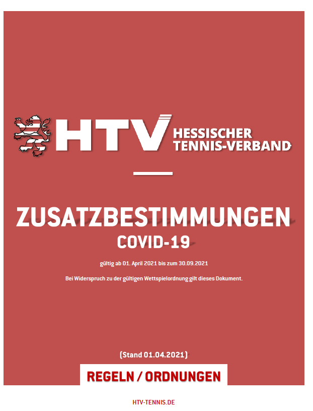 HTV Zusatzbestimmungen COVID19